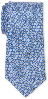 Tommy Hilfiger Light Blue Floral Slim Silk Tie