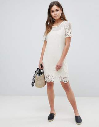 Bellfield Larsa Crochet Lace Dress