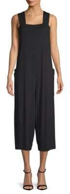 Eileen Fisher Wide Strap Cropped Jumpsuit