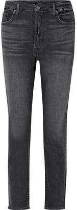 GRLFRND Kiara Slim Boyfriend Jeans - Dark gray