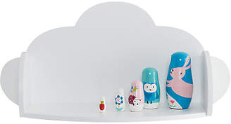 Great Little Trading Co Cloud Wall Shelf, White