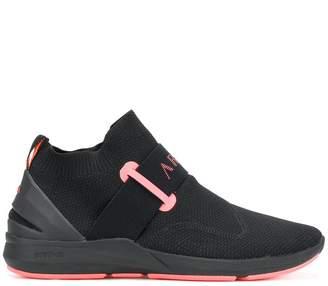 Arkk mid-top silp-on sneakers