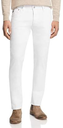 AG Jeans Tellis Slim Fit Jeans in White