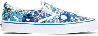 Vans Vault by x Takashi Murakami floral slip-on sneakers