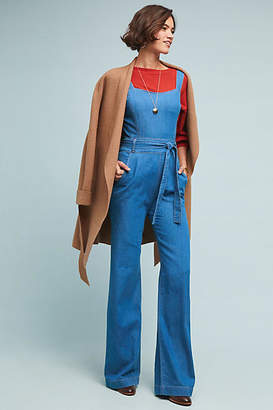 Ella Moss Magnolia Belted Denim Jumpsuit