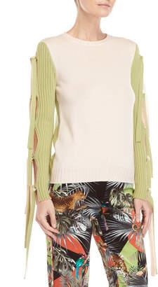 Blugirl Wool Tie Sleeve Sweater