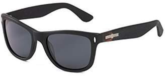 Hang Ten Gold Classic Wayfarer HTG1006 C1 Polarized Round Sunglasses