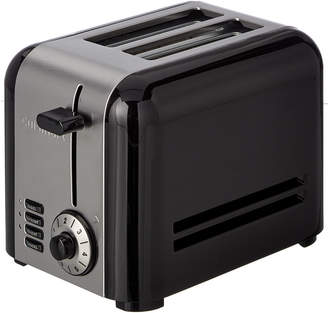 Cuisinart Two-Slice Brushed Stainless Hybrid Toaster