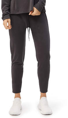 Fenix All Luxe Ribbed Drawstring Pull-On Pants