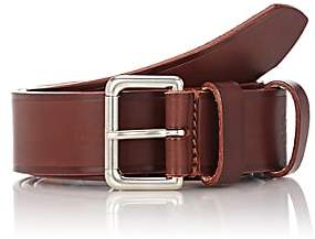 Felisi Men's Numbered Leather Belt - Brown