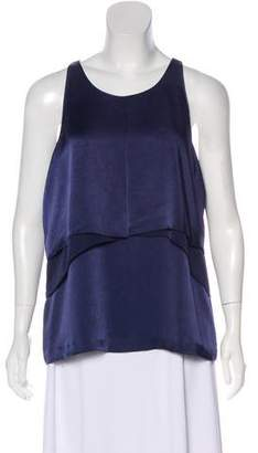Elizabeth and James Layered Sleeveless Top