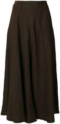Aspesi long flared skirt