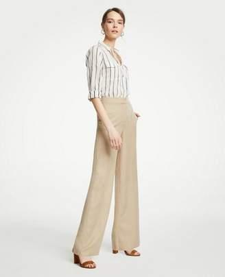 Ann Taylor Petite Drapey Full Length Pants