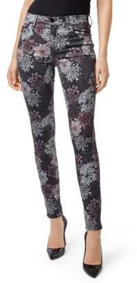 J Brand 620 Floral Super Skinny Jeans