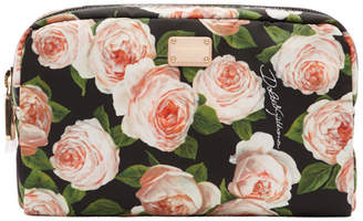 Dolce & Gabbana Multicolor Flowers Cosmetics Pouch