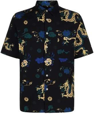 Dragon Optical A Kind Of Guise Print Shirt