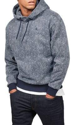 G Star Herringbone Pullover Hoodie
