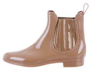 Joie Round-Toe Ankle Rainboots