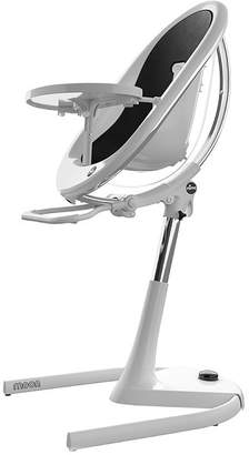 Pottery Barn Kids Mima Moon High Chair in White Frame, Black seat