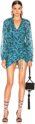 Veronica Beard Becky Dress in Turquoise Multi | FWRD
