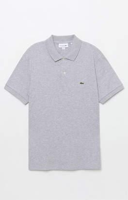 Lacoste Classic Pique Gray Polo Shirt