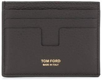 Tom Ford logo cardholder wallet