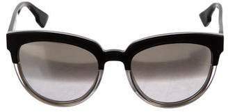 Christian Dior Sight 1 Reflective Sunglasses