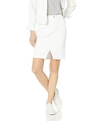 Skinnygirl Women's Pencil Skirt with Injeanious Stretch Denim