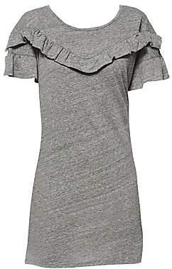 Paige Women's Adalie Ruffle T-Shirt Dress