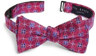 Ted Baker Geometric Silk Bow Tie