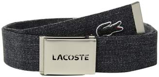 Lacoste Classic L.12.12 Woven Strap Belt Men's Belts