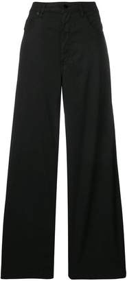 Love Moschino high-waisted flared trousers