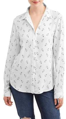 ab6ab9def1d61 Generic Women s Conversational Button Down Shirt