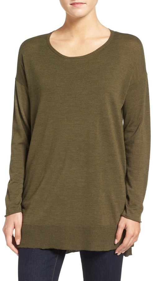 Eileen Fisher Featherweight Merino Wool Sweater 3