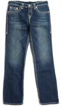 True Religion Boy's Ricky Super-T Jeans $129 thestylecure.com