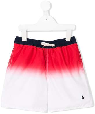 Ralph Lauren faded swim shorts