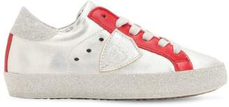 Philippe Model Lvr Edition Metallic Leather Sneakers