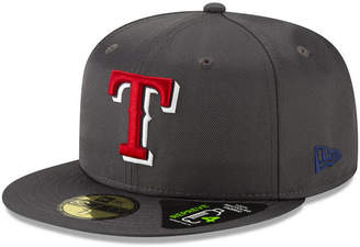 the best attitude 6eb41 bb52a New Era Texas Rangers Recycled 59FIFTY Fitted Cap