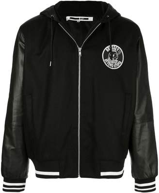McQ hooded bomber jacket