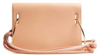 Roksanda Dia Leather Shoulder Bag - Womens - Nude Multi