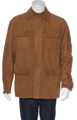 Loro Piana Suede Field Jacket