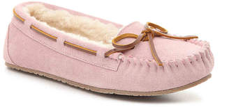 Minnetonka Jr. Trapper Moccasin Slipper - Women's