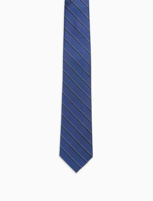 Calvin Klein high rise stripe tie