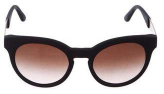 Tory Burch Round Tinted Sunglasses