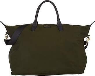 Barneys New York Men's Medium Weekender Bag - Dk. Green