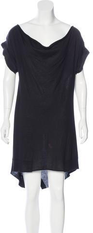 Alexander WangAlexander Wang Silk Sweater Dress