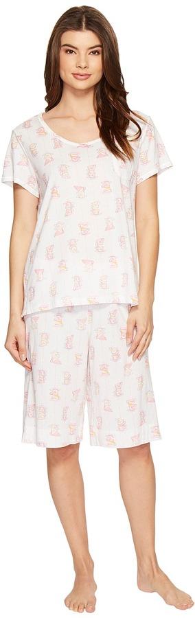 Carole HochmanCarole Hochman - Key Item Bermuda Pajama Women's Pajama Sets