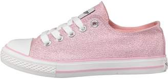 Board Angels Junior Girls Glitter Pumps Pink Glitter