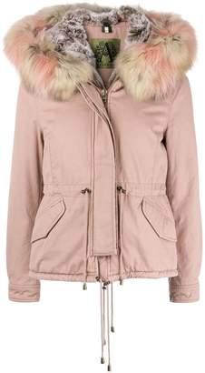 Alessandra Chamonix racoon fur trim hooded parka