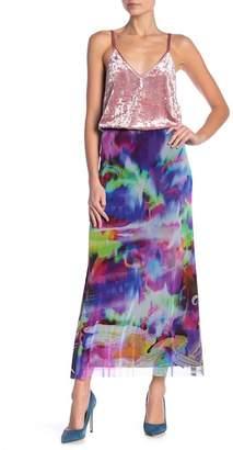 Petit Pois Patterned Maxi Skirt